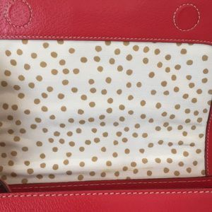 kate spade Bags - Red Leather Kate Spade Crossbody Purse